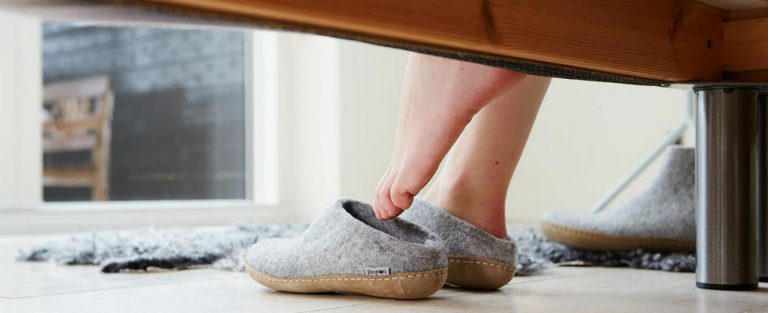 Houd je voeten warm!