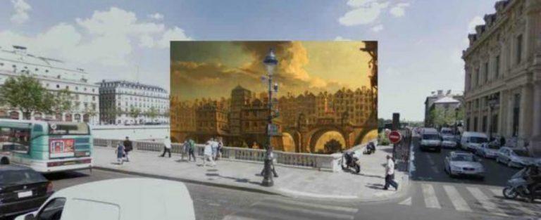 Klassieke schilderijen vs. Google Street View