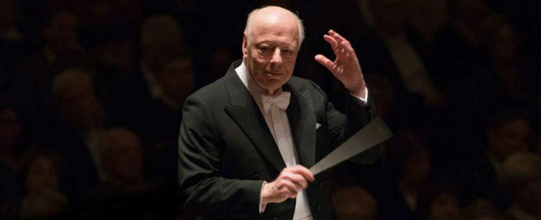 Bernard Haitink met zijn favoriete orkest