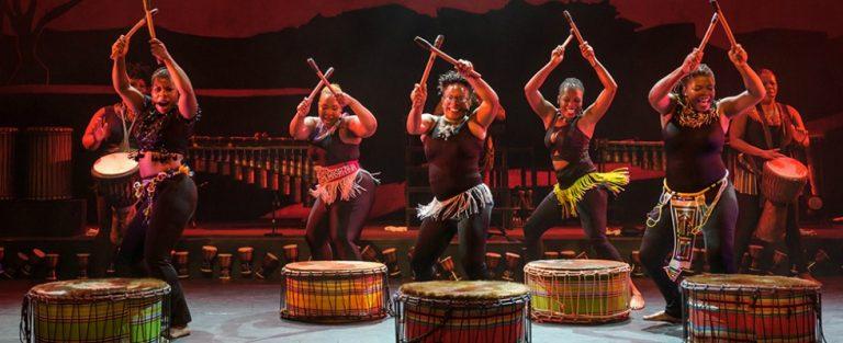 Zuid-Afrikaanse dames trommelen erop los