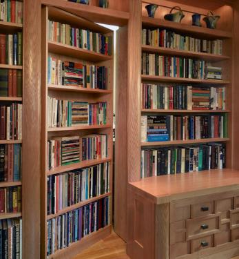 Achttien boekenplanken bij Zin.nl