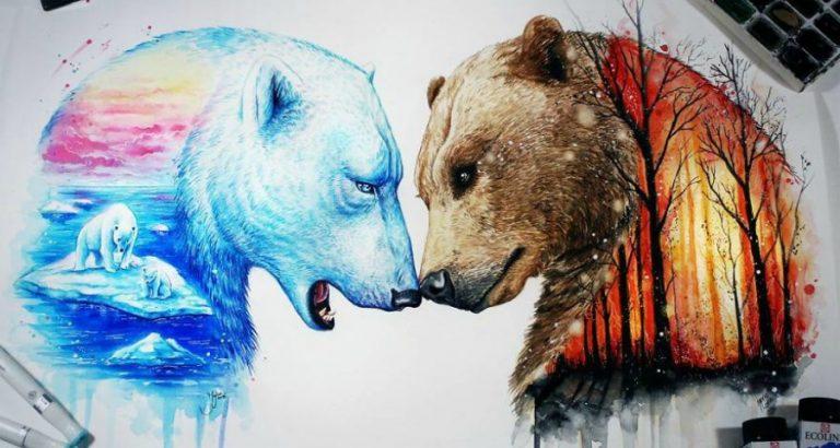 Deze kunstenares schildert magisch mooie dieren