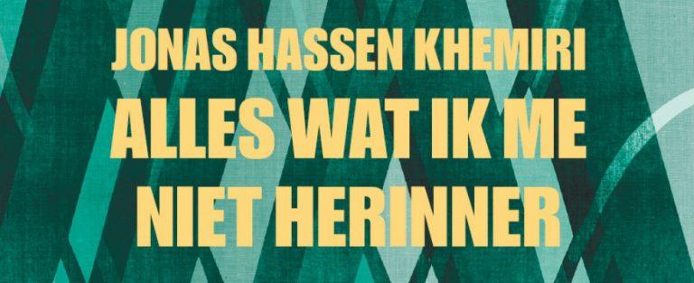Boekenclubrecensie Jonas Hassen Khemiri – Alles wat ik me niet herinner