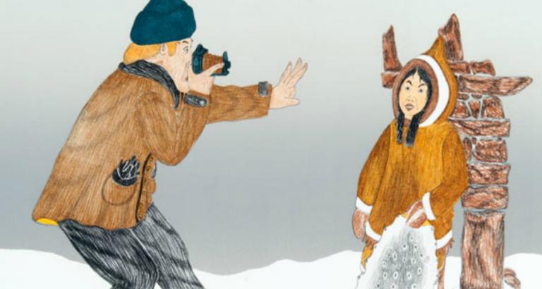 Genieten van Inuit kunst