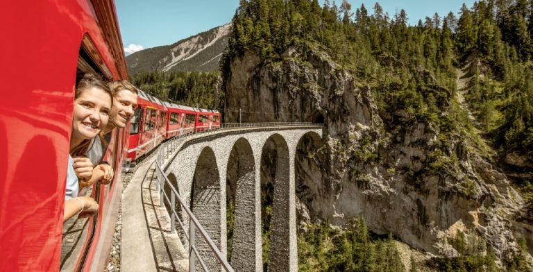 Zwitserland? Per trein!