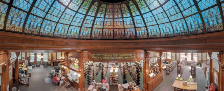 Prachtige panorama's van Amerikaanse bibliotheken