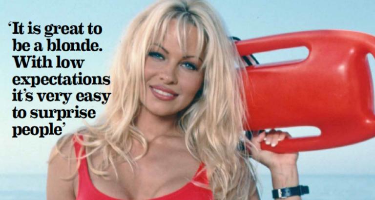 Pamela Anderson – een icoon