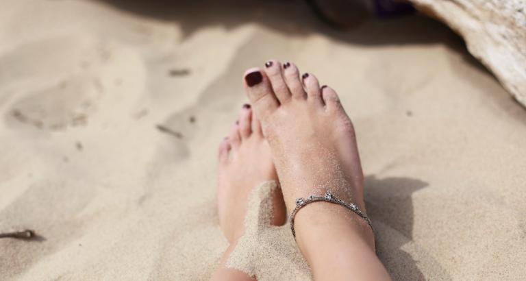 Blote voeten verdienen meer dan alleen nagellak