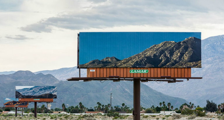 Verdwenen reclame