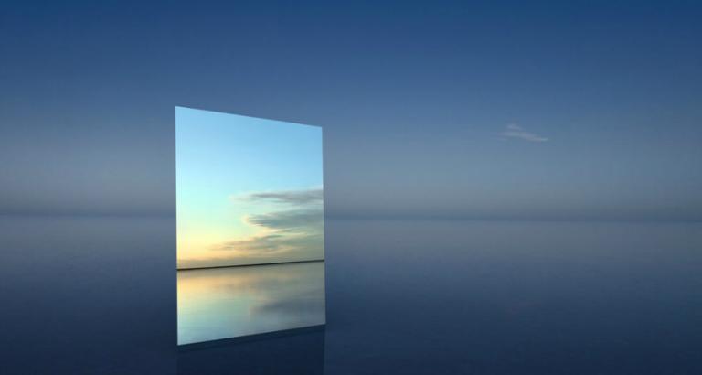 De spiegelkunst van Murray Fredericks