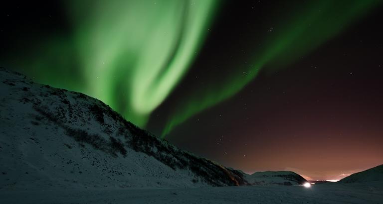 Jagen op het Noorderlicht