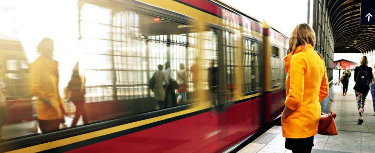 Ergernis in de trein