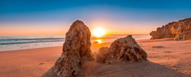Winterzon aan de Algarve