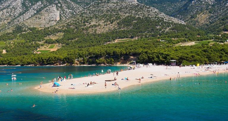 Op naar eiland Brac in Kroatië