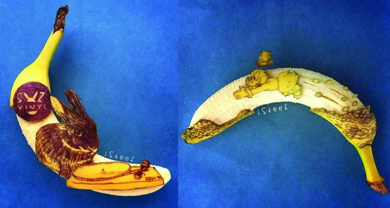 Creatief met bananen