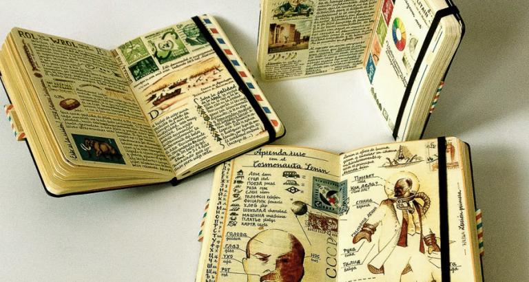 Schitterende notitieboeken