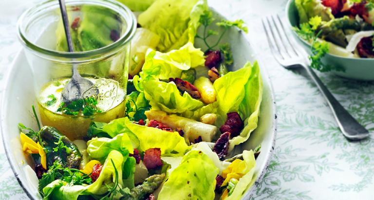 Asperges zijn ook verrukkelijk in salades!