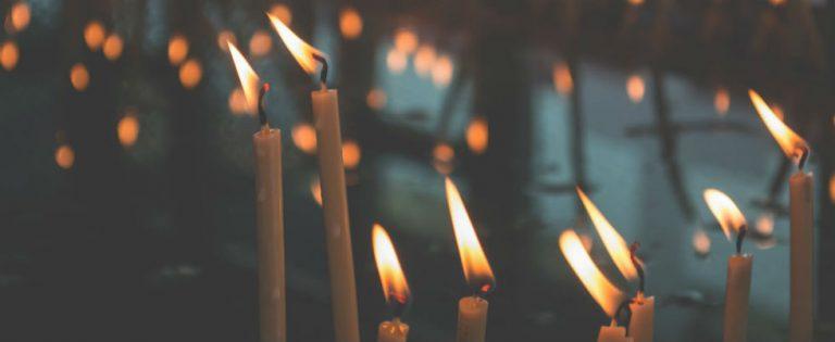 'Kaarsen branden kan iedereen om mij heen als de beste'