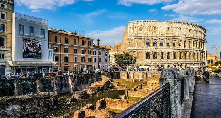 Rome omarmt je