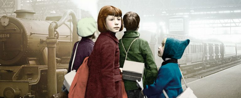 Op kindertransport