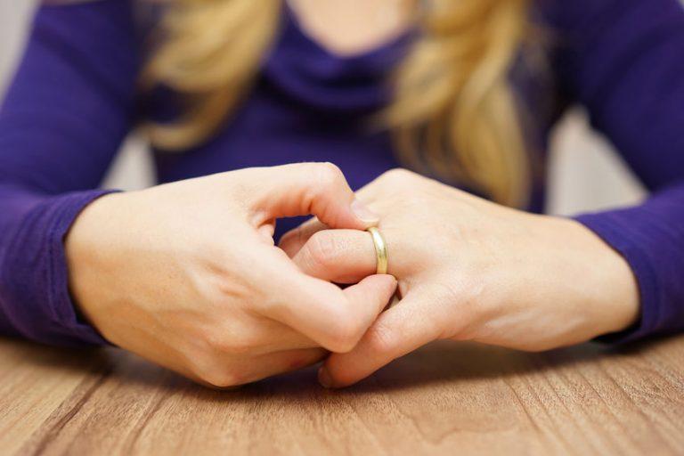 Mijn partner wil niet scheiden