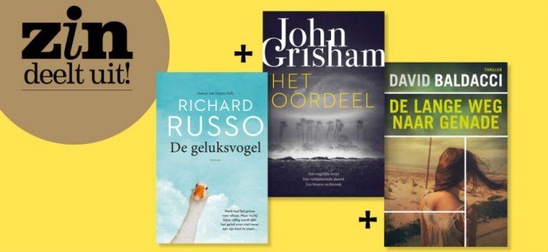 Win 3 geweldige bestsellers!