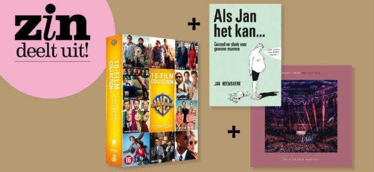 Win 10 films, een boek én een cd!