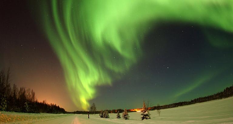 Kom naar winters Finland