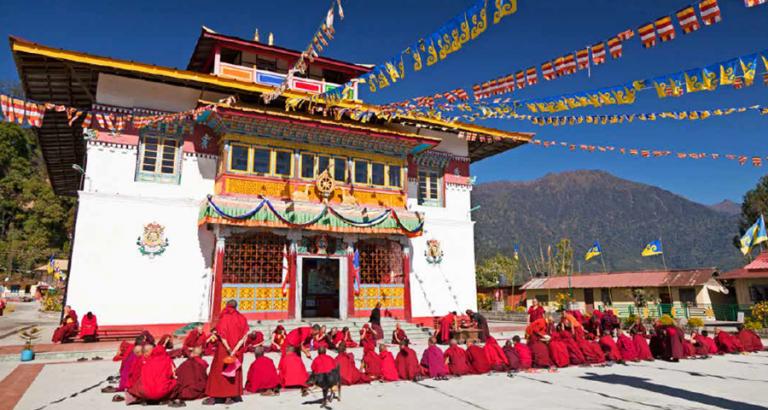 Kloosters, thee en eeuwige sneeuw