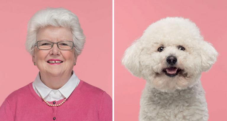 Je lijkt echt op je hond. Of andersom…