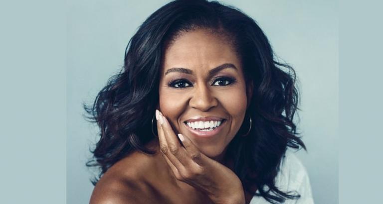 Win het verhaal van Michelle Obama