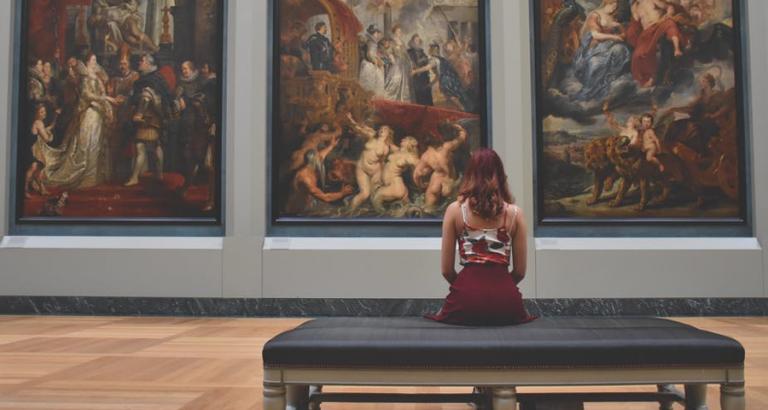 Mensen besteden gemiddeld 33,9 seconden aan een kunstwerk