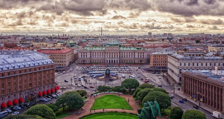 Met een local op stap door Sint-Petersburg