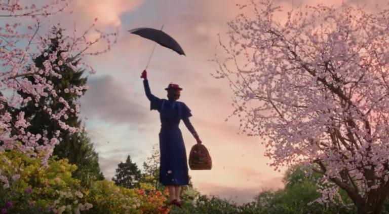 Kijk en vergelijk: Mary Poppins toen en nu