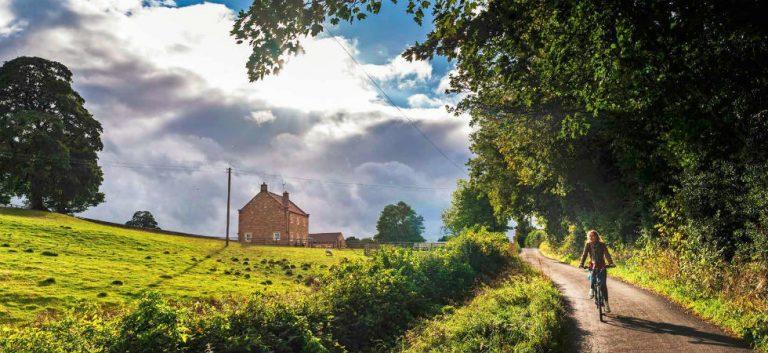 Groen en weids Yorkshire