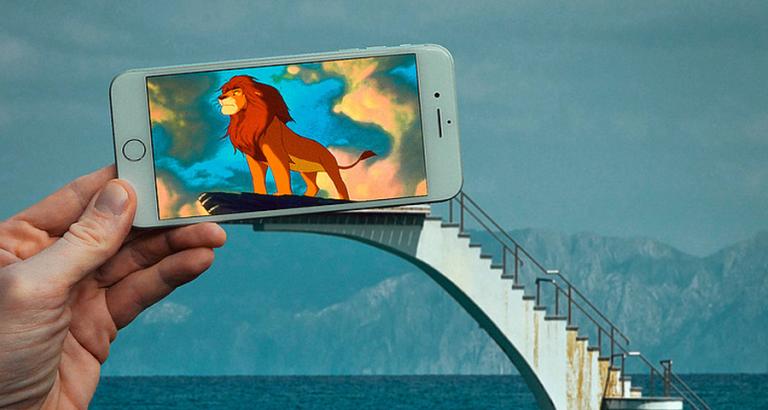 Deze kunstenaar gebruikt zijn iPhone om twee werelden te combineren