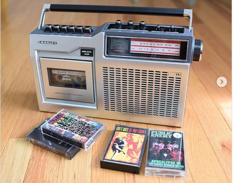 De cassette wordt weer hip! Echt.
