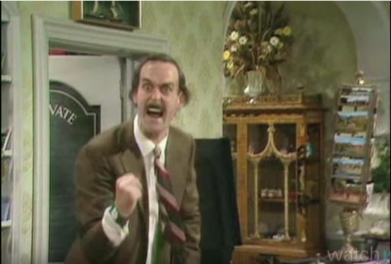 Dit zijn toch zeker de grappigste scènes uit Fawlty Towers