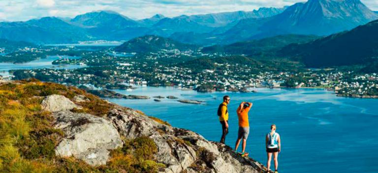 Wát zijn de Noorse Fjorden prachtig!