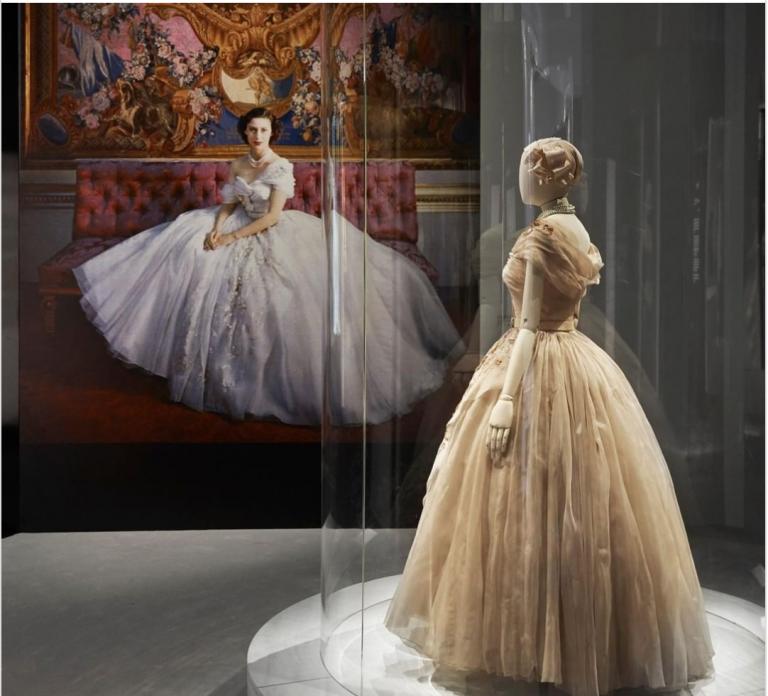 Dromen van Dior in het Londen
