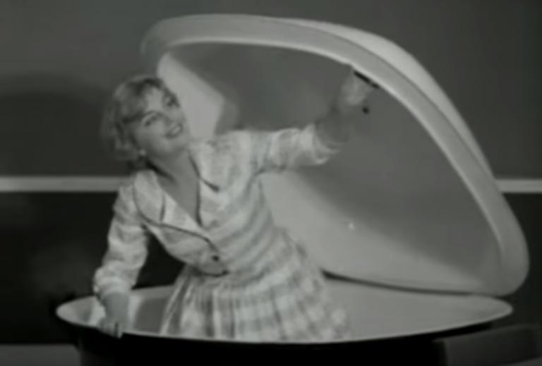Dit waren de nieuwste snufjes van de Huishoudbeurs in 1959
