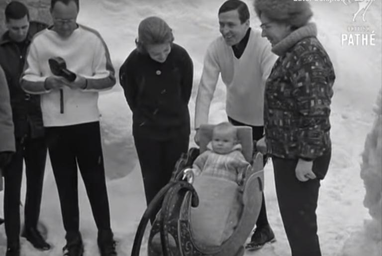 Kijken! Nostalgische plaatjes van Prinses Beatrix op wintersport