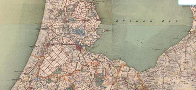 Hoe zag jouw straat er 200 jaar geleden uit?