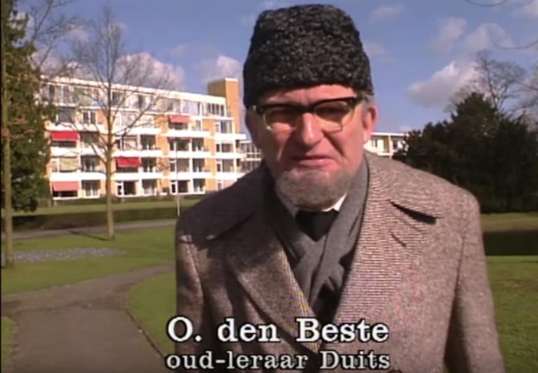 Ken je hem nog? Wim de Bie als de leraar Duits?