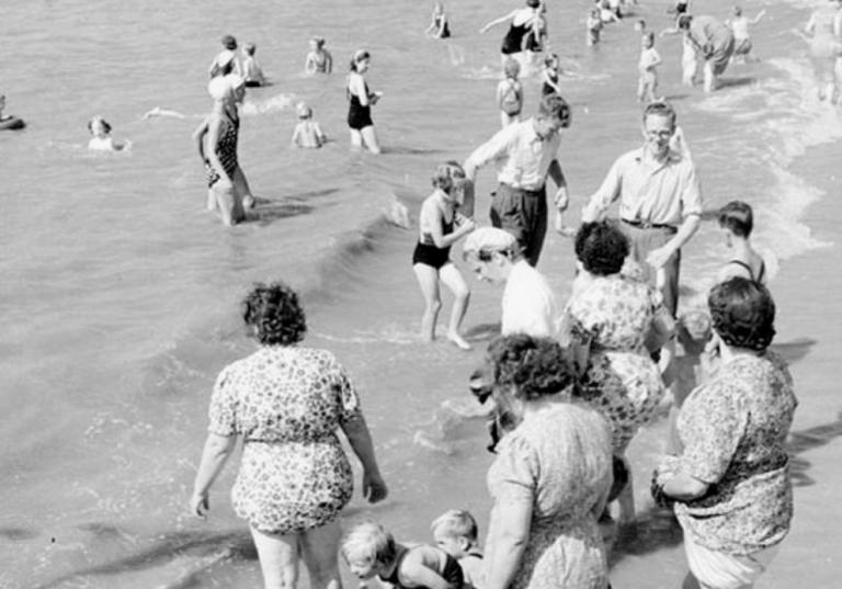 Zo gingen wij vroeger naar het strand