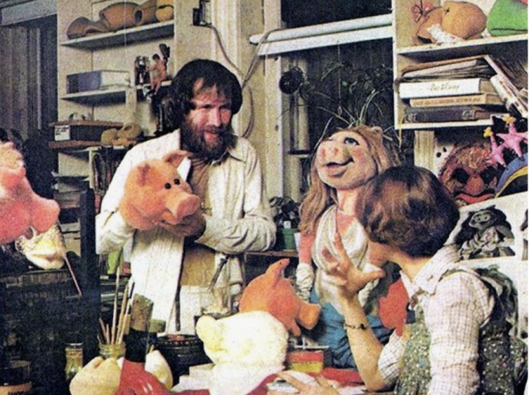 Geweldige 'behind the scenes' foto's van Jim Henson en The Muppets