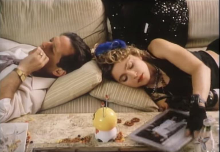 Madonna voor iedereen die niet kan wennen aan die ooglap