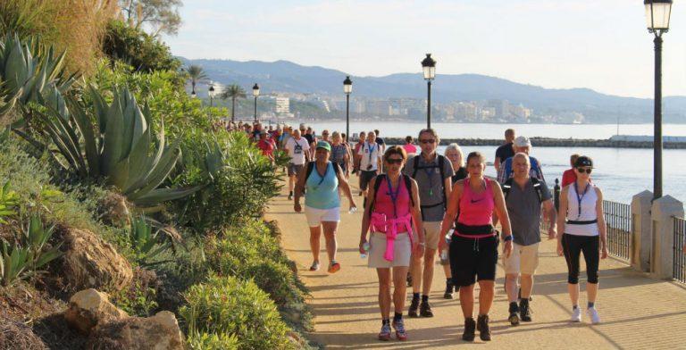 Op naar de wandelvierdaagse in Marbella!