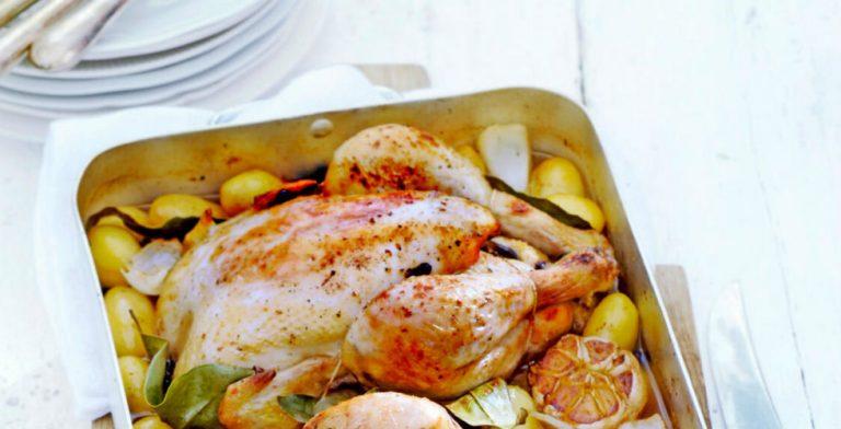 Een hele kip geeft zo'n lekker royaal gevoel