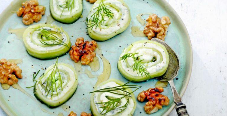 Zomerser dan komkommer wordt het niet!